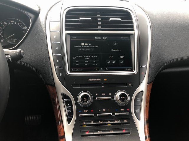 2016 Ingot Silver Metallic Lincoln MKX Select 4 Door AWD Automatic 2.7L V6 Engine