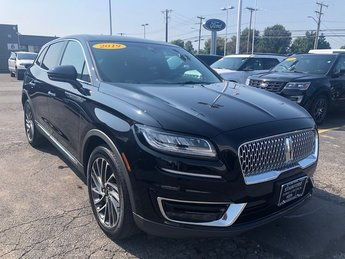 2019 Lincoln Nautilus Reserve SUV AWD Automatic 4 Door 2.0L Turbocharged Engine