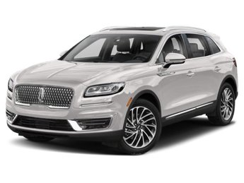 2019 White Platinum Metallic Tri-Coat Lincoln Nautilus Reserve Automatic SUV 4 Door AWD