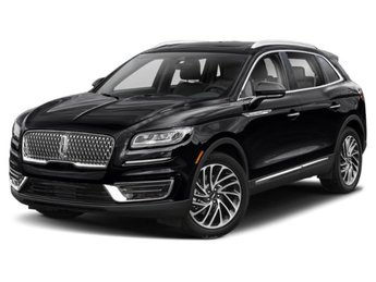 2019 Infinite Black Metallic Lincoln Nautilus Reserve 4 Door 2.7L V6 Engine AWD Automatic SUV