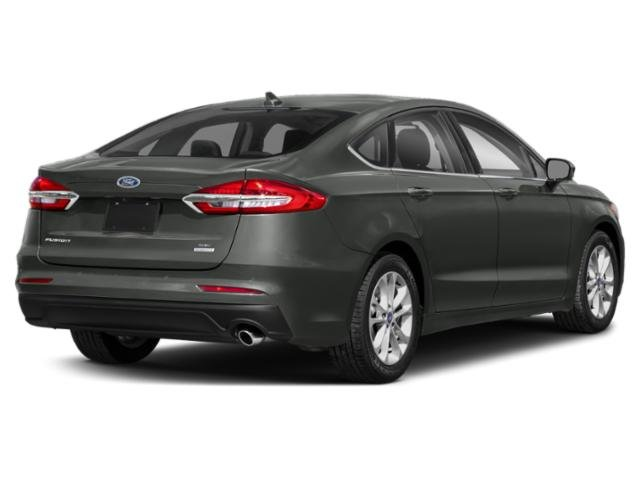 2019 Magnetic Metallic Ford Fusion SEL FWD EcoBoost 1.5L I4 GTDi DOHC Turbocharged VCT Engine Sedan