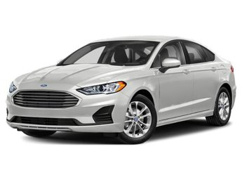 2020 Oxford White Ford Fusion SE Automatic FWD EcoBoost 1.5L I4 GTDi DOHC Turbocharged VCT Engine 4 Door Sedan