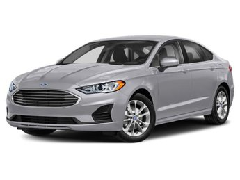 2020 Iconic Silver Metallic Ford Fusion SE FWD 4 Door Sedan
