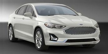 2020 White Metallic Ford Fusion SE FWD EcoBoost 1.5L I4 GTDi DOHC Turbocharged VCT Engine Automatic