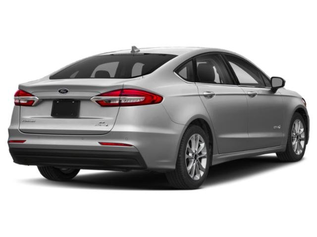 2019 Ingot Silver Metallic Ford Fusion Hybrid SE Sedan Automatic (CVT) 4 Door FWD I4 Engine
