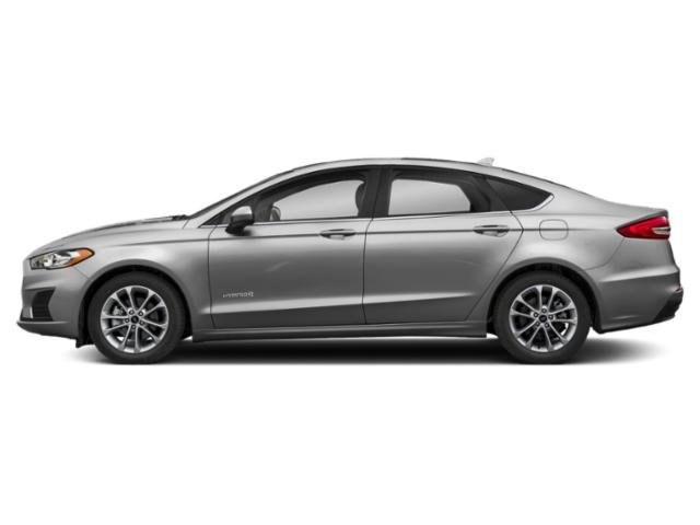 2019 Ingot Silver Metallic Ford Fusion Hybrid SE Sedan I4 Engine FWD 4 Door