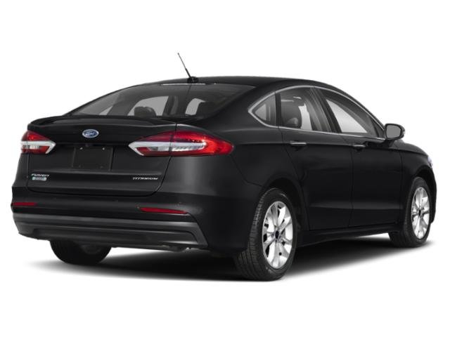 2019 Agate Black Ford Fusion Energi Titanium I4 Engine Sedan Automatic (CVT) FWD