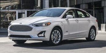 2020 White Metallic Ford Fusion Energi Titanium I4 Engine FWD Sedan Automatic (CVT)