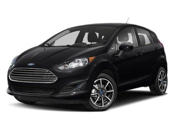 2019 Shadow Black Ford Fiesta SE 4 Door FWD 1.6L I4 Ti-VCT Engine Automatic