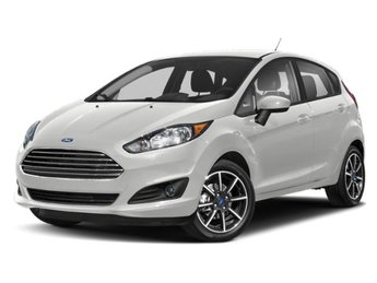 2019 Oxford White Ford Fiesta SE 1.6L I4 Ti-VCT Engine Hatchback 4 Door FWD