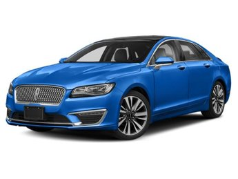 2020 Empire Blue Metallic Tinted Clearcoat Lincoln MKZ Reserve Sedan AWD 2.0L I4 Engine