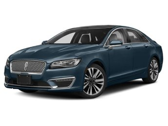2019 Blue Diamond Metallic Lincoln MKZ Reserve II 2.0L Turbocharged Engine AWD Sedan