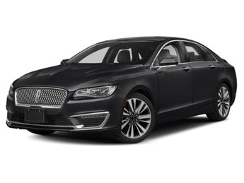 2019 Infinite Black Metallic Lincoln MKZ Reserve II Automatic V6 Engine AWD 4 Door