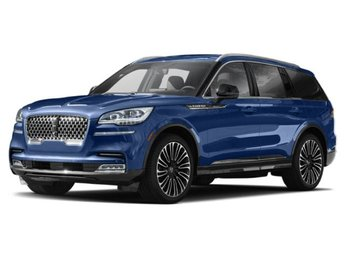 2020 Flight Blue Clearcoat Lincoln Aviator Black Label Automatic AWD SUV 3.0L V6 Engine 4 Door