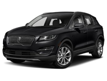 2019 Infinite Black Metallic Lincoln MKC Select AWD Automatic 2.0L I4 Engine SUV 4 Door