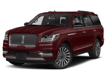 2019 Burgundy Velvet Metallic Tinted Clearcoat Lincoln Navigator Black Label Automatic 3.5L V6 Engine 4 Door