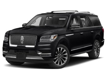 2019 Infinite Black Metallic Lincoln Navigator Black Label 4 Door SUV Automatic 4X4