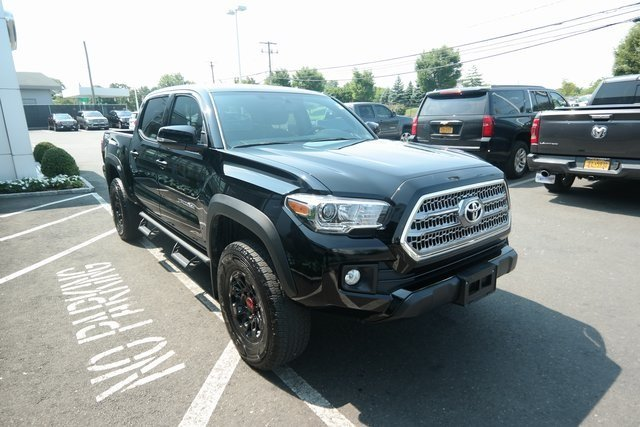 2017 Black Toyota Tacoma TRD Offroad V6 Engine 4X4 Automatic Truck 4 Door