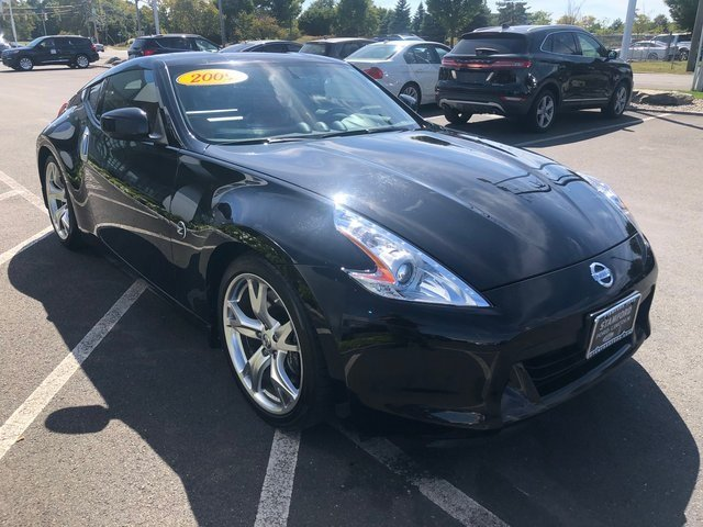 2009 Magnetic Black Metallic Nissan 370Z Touring Coupe 2 Door Manual RWD