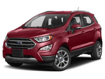 2019 Ford EcoSport SE EcoBoost 1.0L I3 GTDi DOHC Turbocharged VCT Engine 4 Door SUV