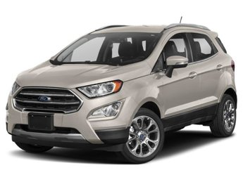 2019 Moondust Silver Metallic Ford EcoSport SE EcoBoost 1.0L I3 GTDi DOHC Turbocharged VCT Engine SUV Automatic 4 Door