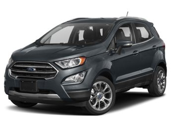 2019 Smoke Metallic Ford EcoSport SE Automatic FWD EcoBoost 1.0L I3 GTDi DOHC Turbocharged VCT Engine SUV