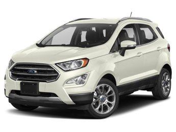 2019 Diamond White Ford EcoSport SE Automatic 4 Door 2.0L I4 Ti-VCT GDI Engine SUV 4X4