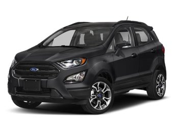 2019 Shadow Black Ford EcoSport SES Automatic 4 Door SUV 2.0L I4 Ti-VCT GDI Engine 4X4