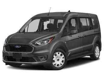 2020 Magnetic Metallic Ford Transit Connect XLT Van I4 Engine 4 Door