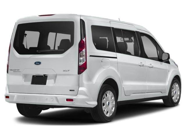2019 Frozen White Ford Transit Connect XLT I4 Engine Van FWD Automatic 4 Door