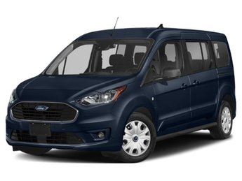 2020 Dark Blue Ford Transit Connect XL Automatic 4 Door Van FWD