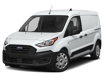 2020 Frozen White Ford Transit Connect XL Automatic Van I4 Engine FWD 4 Door
