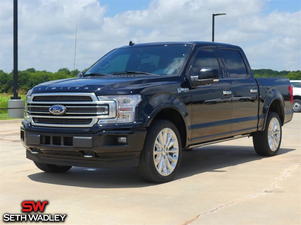 2018 Ford F-150 Limited Automatic 4 Door 4X4 Truck EcoBoost 3.5L V6 GTDi DOHC 24V Twin Turbocharged Engine