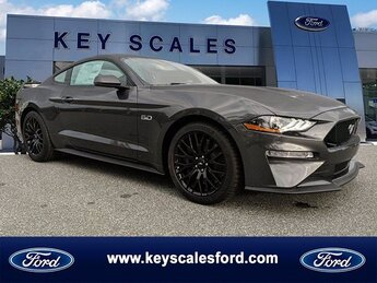 2020 Magnetic Ford Mustang GT Premium 2 Door 5.0L V8 Ti-VCT Engine Automatic