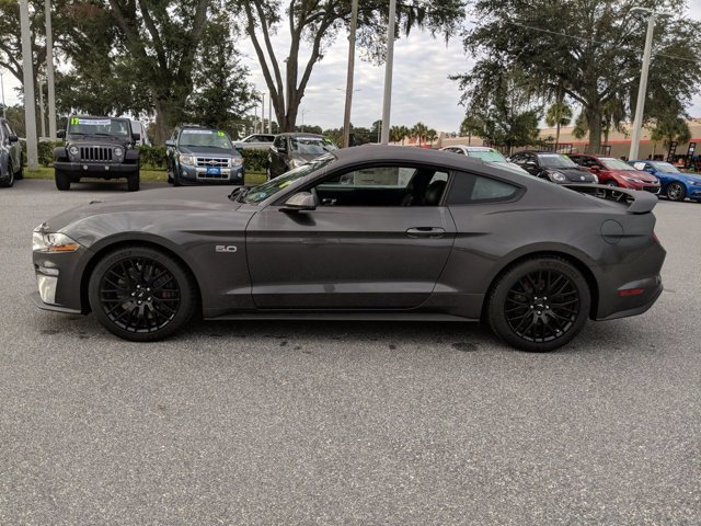 2020 Magnetic Metallic Ford Mustang GT Premium RWD 2 Door Automatic Coupe Premium Unleaded V-8 5.0 L/302 Engine