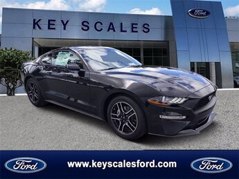 2020 Shadow Black Ford Mustang EcoBoost 2 Door EcoBoost 2.3L I4 GTDi DOHC Turbocharged VCT Engine Automatic RWD