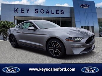 2020 Iconic Silver Metallic Ford Mustang EcoBoost Premium Coupe 2 Door Automatic EcoBoost 2.3L I4 GTDi DOHC Turbocharged VCT Engine RWD