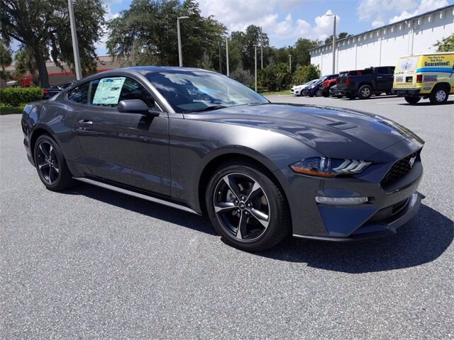 2020 Ford Mustang EcoBoost RWD Coupe EcoBoost 2.3L I4 GTDi DOHC Turbocharged VCT Engine 2 Door