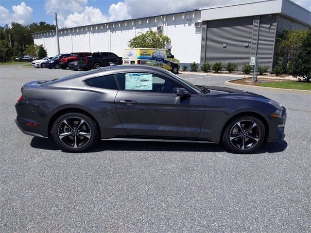 2020 Magnetic Metallic Ford Mustang EcoBoost Coupe 2 Door Automatic