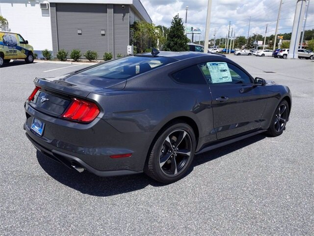 2020 Magnetic Metallic Ford Mustang EcoBoost 2 Door Automatic Coupe EcoBoost 2.3L I4 GTDi DOHC Turbocharged VCT Engine