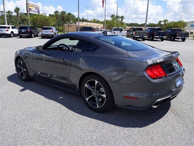 2020 Ford Mustang EcoBoost Automatic EcoBoost 2.3L I4 GTDi DOHC Turbocharged VCT Engine Coupe