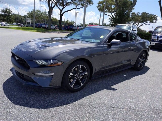 2020 Ford Mustang EcoBoost Automatic Coupe RWD EcoBoost 2.3L I4 GTDi DOHC Turbocharged VCT Engine 2 Door