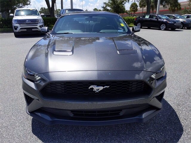 2020 Magnetic Metallic Ford Mustang EcoBoost 2 Door Coupe RWD Automatic