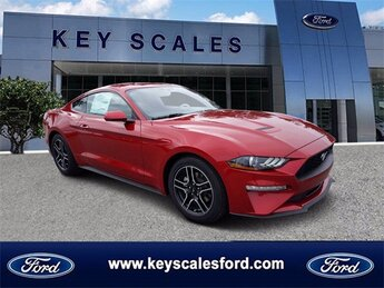 2020 Ford Mustang EcoBoost Coupe EcoBoost 2.3L I4 GTDi DOHC Turbocharged VCT Engine RWD 2 Door
