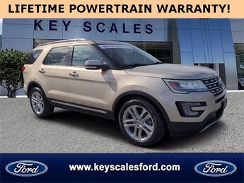 2017 Ford Explorer Limited SUV 4 Door Automatic 3.5L 6-Cylinder SMPI Turbocharged DOHC Engine