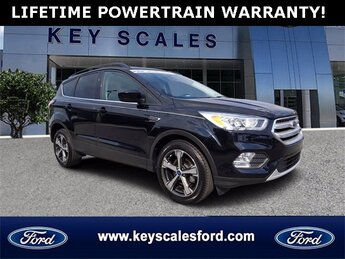 2018 Ford Escape SEL 4 Door SUV Automatic Intercooled Turbo Regular Unleaded I-4 1.5 L/91 Engine FWD