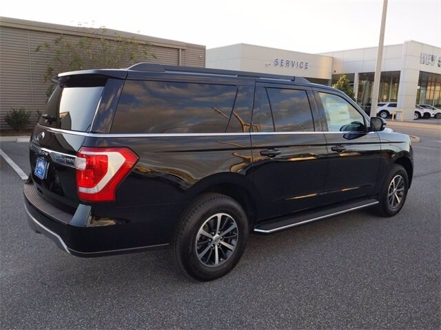 2020 Agate Black Ford Expedition Max XLT 4 Door SUV Automatic EcoBoost 3.5L V6 GTDi DOHC 24V Twin Turbocharged Engine RWD