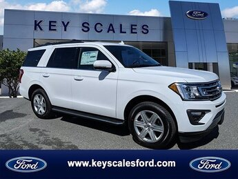 2020 Oxford White Ford Expedition XLT EcoBoost 3.5L V6 GTDi DOHC 24V Twin Turbocharged Engine Automatic SUV RWD