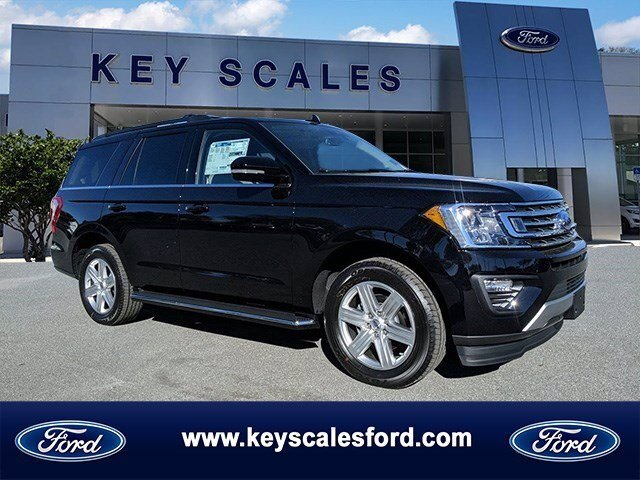 2020 Agate Black Ford Expedition XLT Automatic SUV 4 Door EcoBoost 3.5L V6 GTDi DOHC 24V Twin Turbocharged Engine RWD