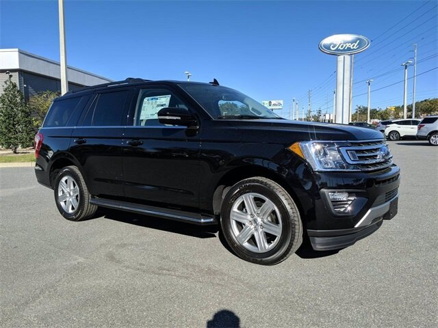 2020 Agate Black Ford Expedition XLT EcoBoost 3.5L V6 GTDi DOHC 24V Twin Turbocharged Engine Automatic RWD SUV 4 Door